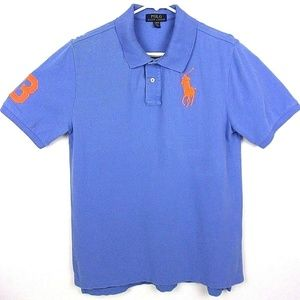 Ralph Lauren Polo Men's Big Embroidered Emblem  F9